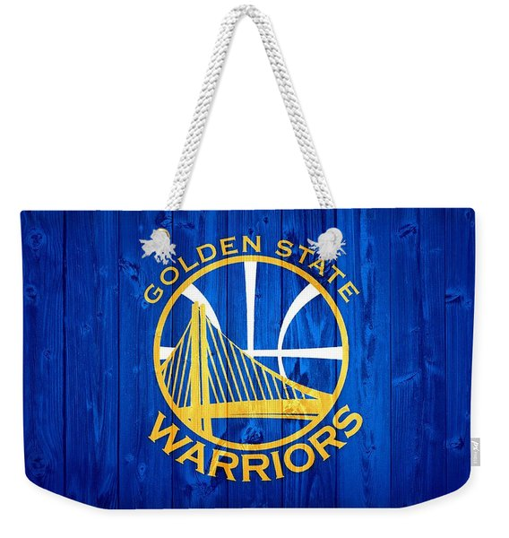 Golden State Warriors Door Weekender Tote Bag