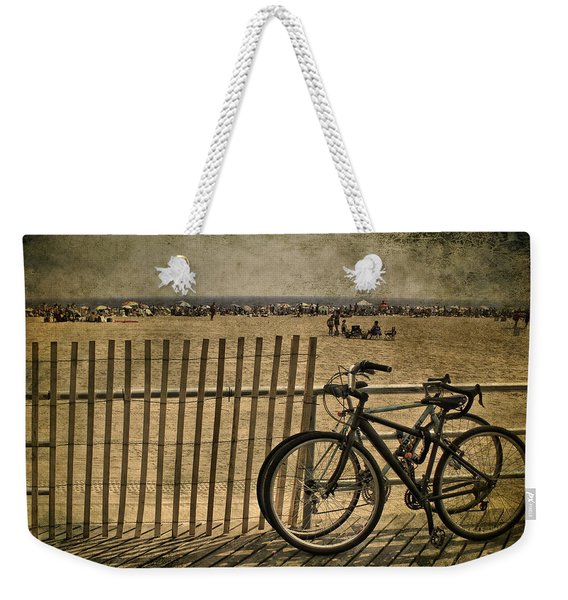 Gone Swimming Weekender Tote Bag