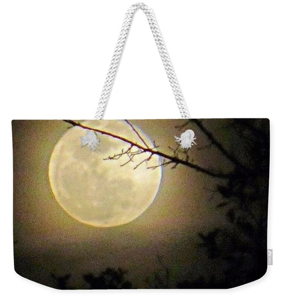 #goodnight #moon And Extra Sweet Weekender Tote Bag