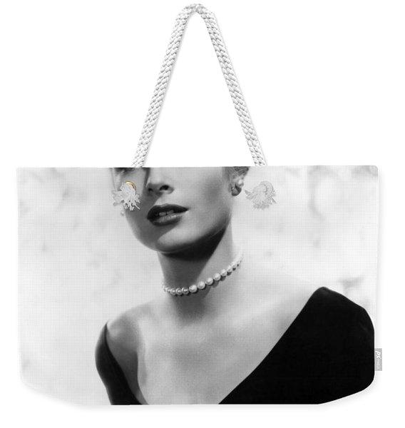 Grace Kelly Weekender Tote Bag