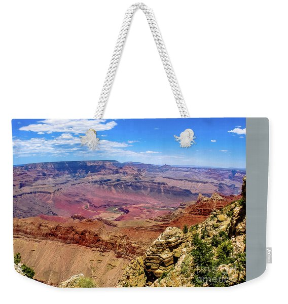 Weekender Tote Bag featuring the photograph Grand Canyon by Benny Marty