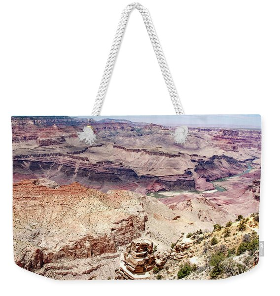 Grand Canyon View From The South Rim, Arizona Weekender Tote Bag