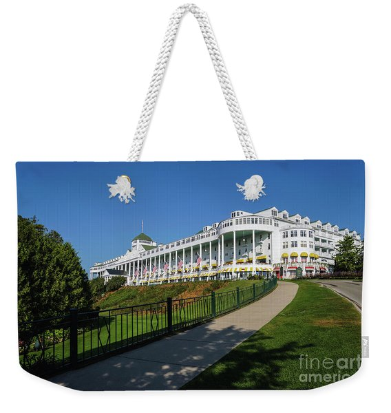 Grand Hotel Mackinac Island Weekender Tote Bag