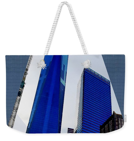 Ground  Zero Freedom Tower Formerly World Trade  Centre Wtc New York Photo Taken On July 4 2015 Usa  Weekender Tote Bag