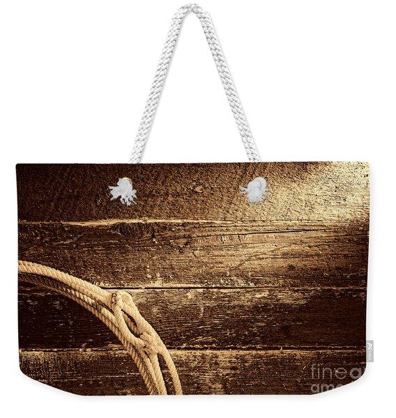 Grunge Lasso  Weekender Tote Bag