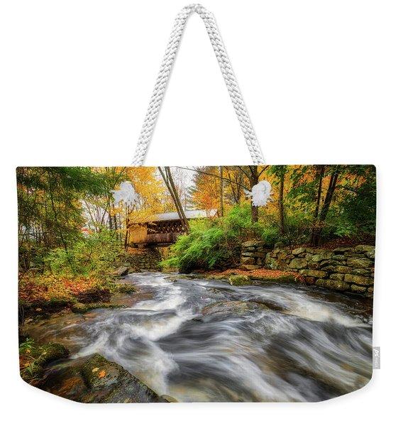 Gunstock Brook Weekender Tote Bag