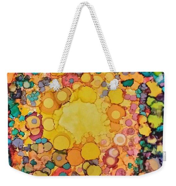 Happy Explosion Weekender Tote Bag