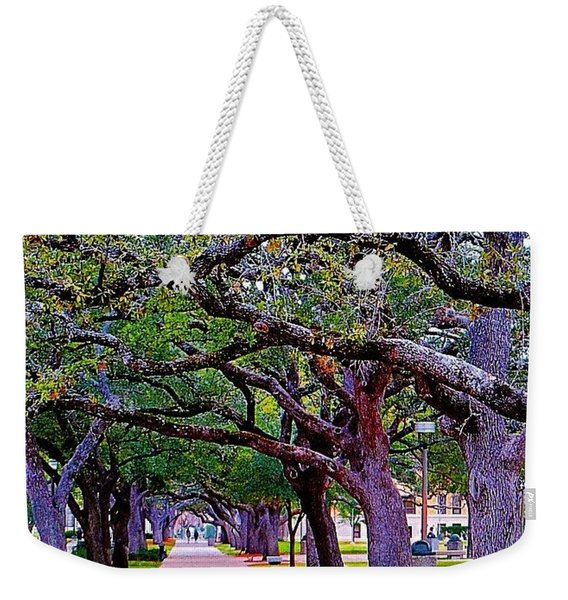 Happy Sunday! May The #path You Take Weekender Tote Bag