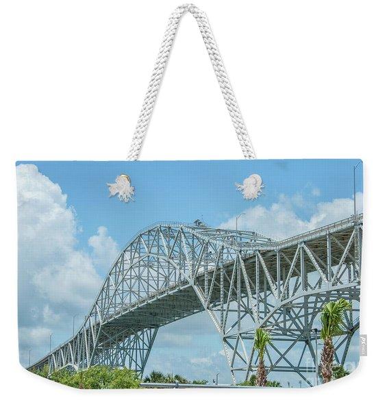 Harbor Bridge Weekender Tote Bag