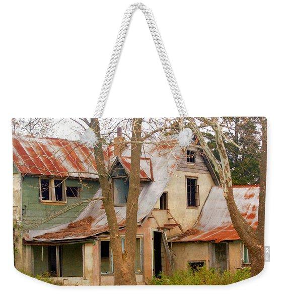 Haunted House Weekender Tote Bag