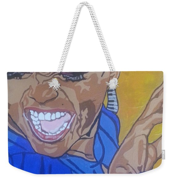 Hazel Scott Weekender Tote Bag