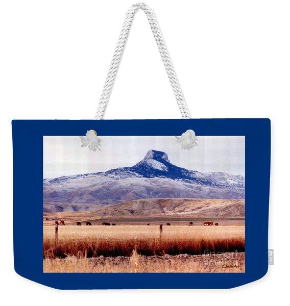 Hart Mountain - Cody,  Wyoming Weekender Tote Bag