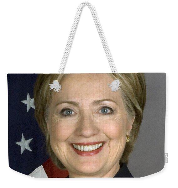 Hillary Clinton Weekender Tote Bag