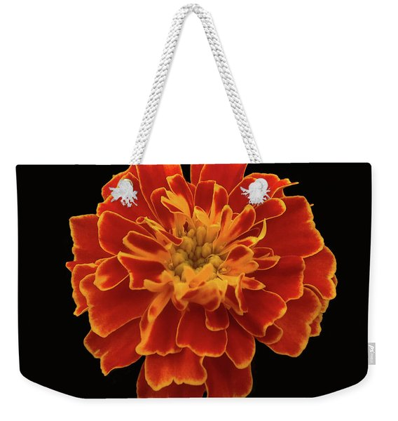 Home Grown Marigold Weekender Tote Bag