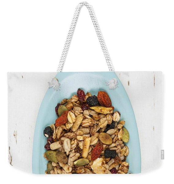 Homemade Granola In Spoon Weekender Tote Bag