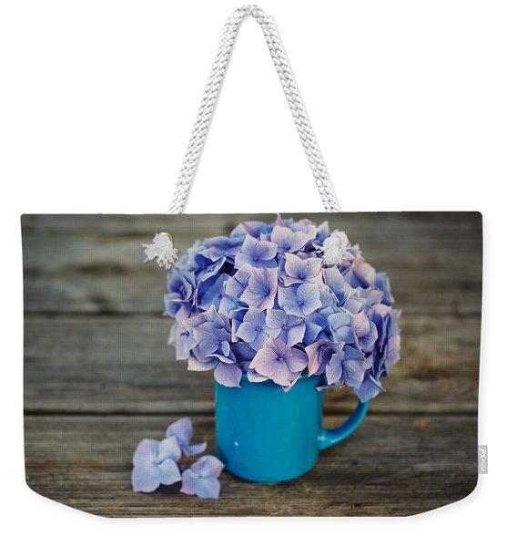 Hortensia Flowers Weekender Tote Bag