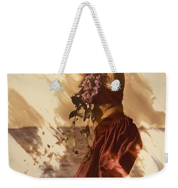 Hula On The Beach Weekender Tote Bag