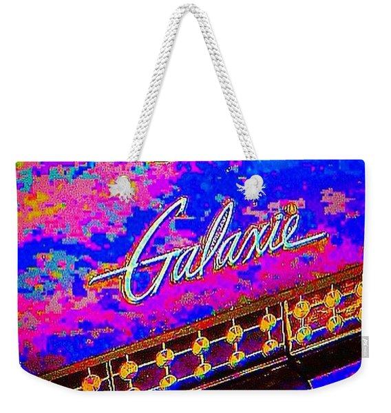 I Am Bindging On #psychedelic Sunday Weekender Tote Bag