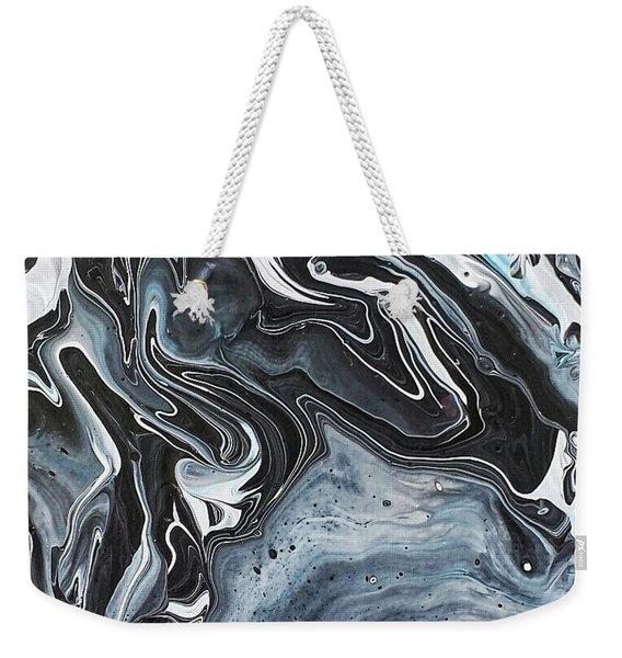 I Know It Looks Like Marble Weekender Tote Bag
