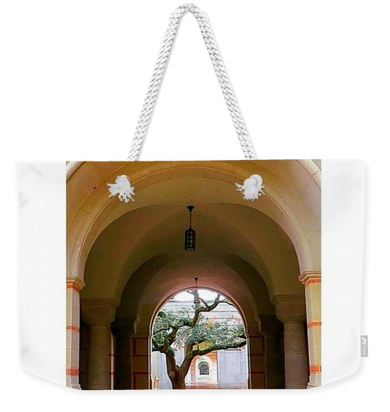 I Love All The #arches At #rice Weekender Tote Bag