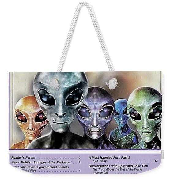 Magazine  Illustration Weekender Tote Bag