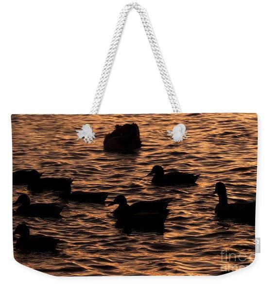 In The Liquid Gold Weekender Tote Bag