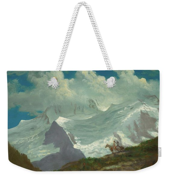 In The Rockies Weekender Tote Bag