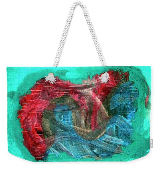 Inner Turmoil  Weekender Tote Bag
