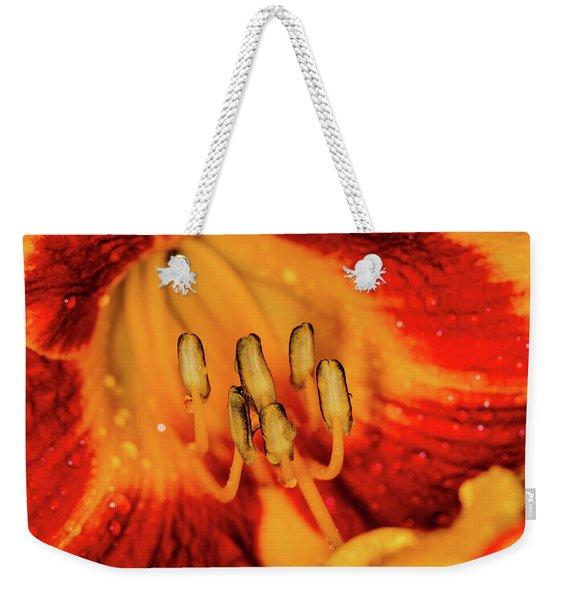 Inside The Lily Weekender Tote Bag