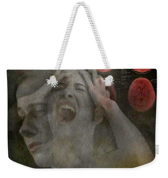 Intense Pain Weekender Tote Bag
