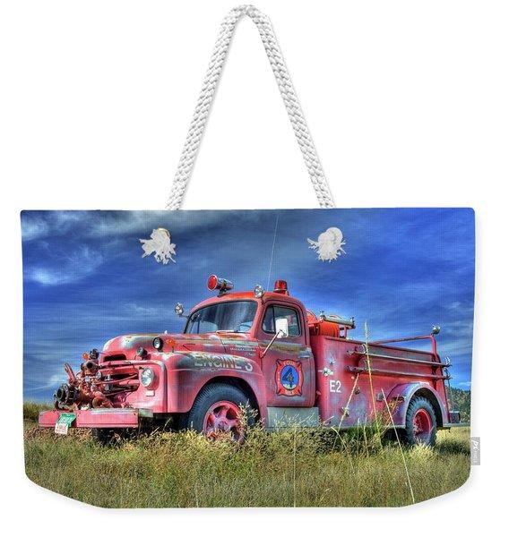 International Fire Truck 2 Weekender Tote Bag