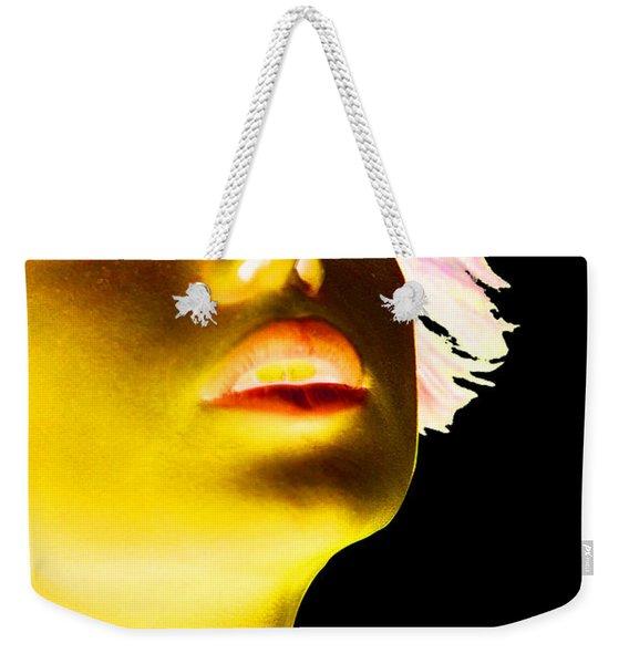 Inverted Realities - Yellow  Weekender Tote Bag