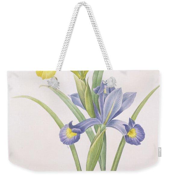 Iris Xiphium Weekender Tote Bag
