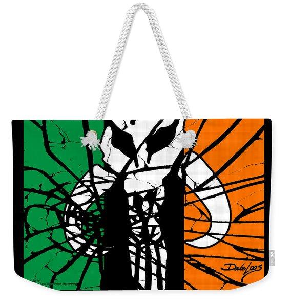 Irish Mandalorian Flag Weekender Tote Bag