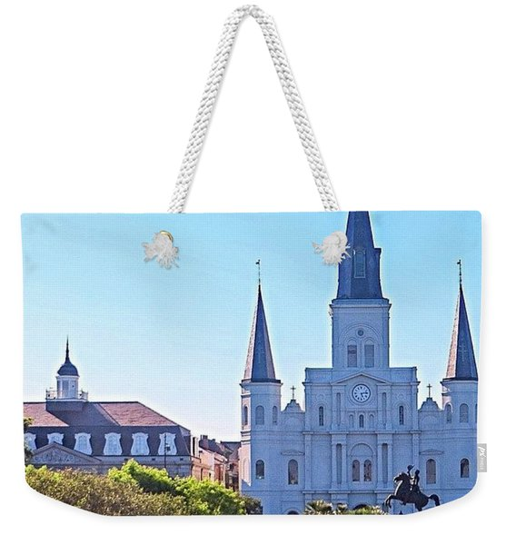 Is This Photo A #classic Or A #cliche? Weekender Tote Bag