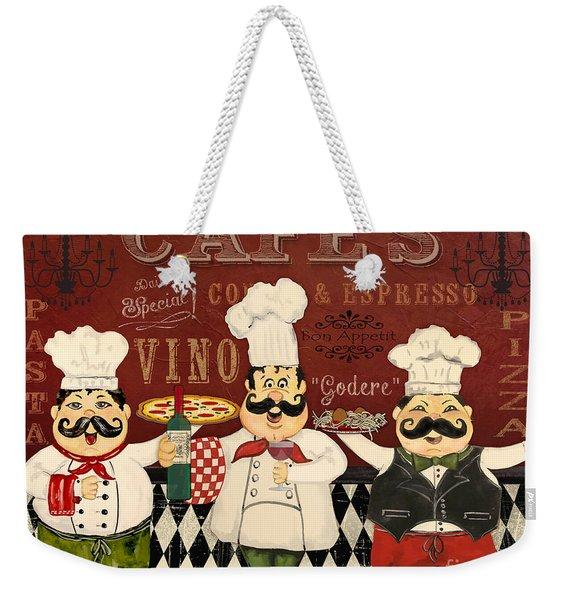 Italian Chefs-jp3048 Weekender Tote Bag