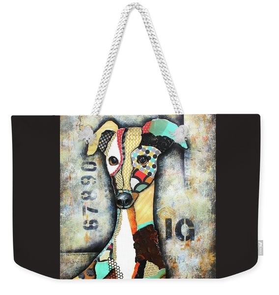 Italian Greyhound Weekender Tote Bag