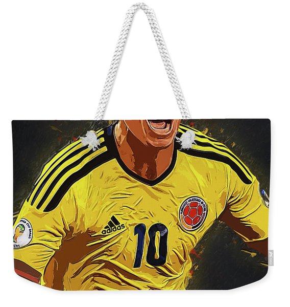 James Rodrigez Weekender Tote Bag