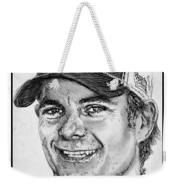 Jeff Gordon In 2010 Weekender Tote Bag