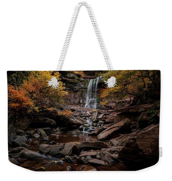 Kaaterskill Falls  Weekender Tote Bag