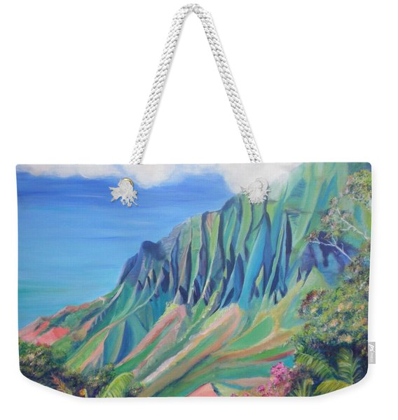 Kalalau Valley Weekender Tote Bag