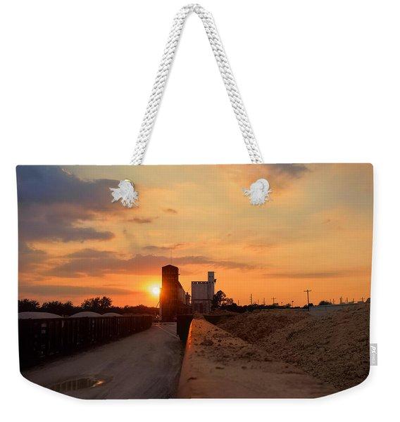 Katy Texas Sunset Weekender Tote Bag