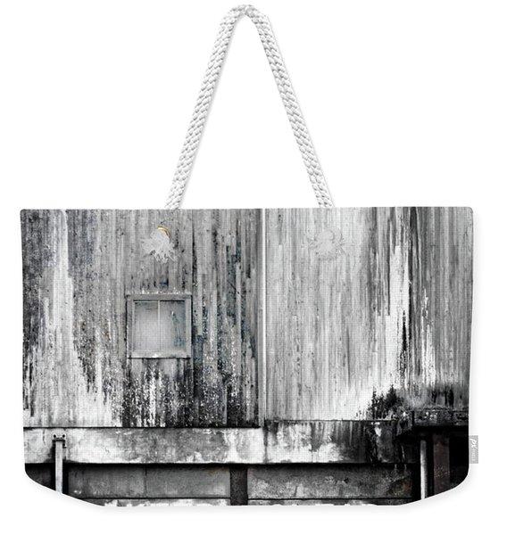 Keep Clear Industrial Art Weekender Tote Bag
