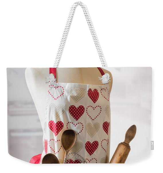 Kitchen Apron Weekender Tote Bag