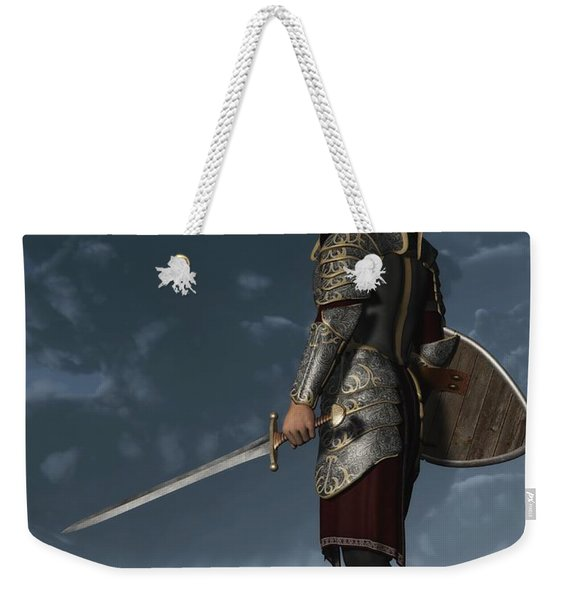 Knight Of The Storm Weekender Tote Bag