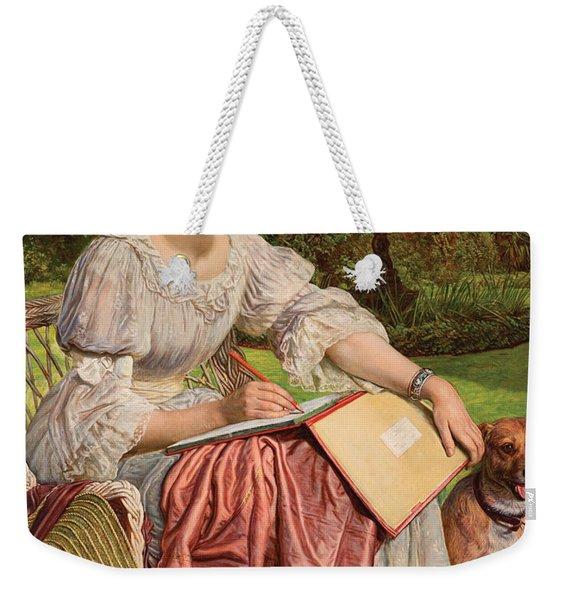 Lady Weekender Tote Bag