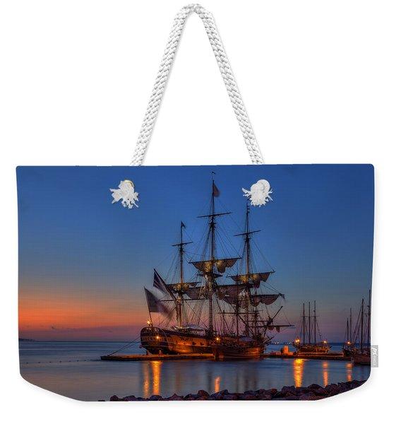 Lafayette's Hermione Voyage 2015 Weekender Tote Bag