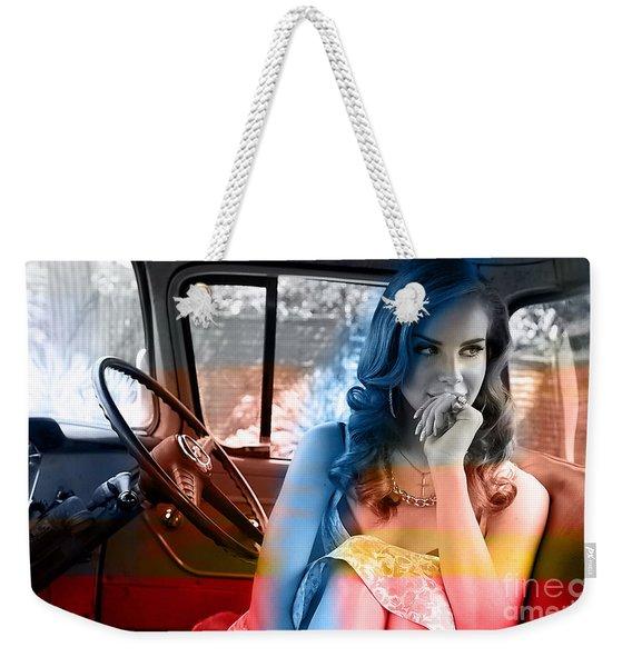 Lana Del Rey Weekender Tote Bag