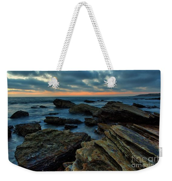 Last Light At Crystal Cove Weekender Tote Bag