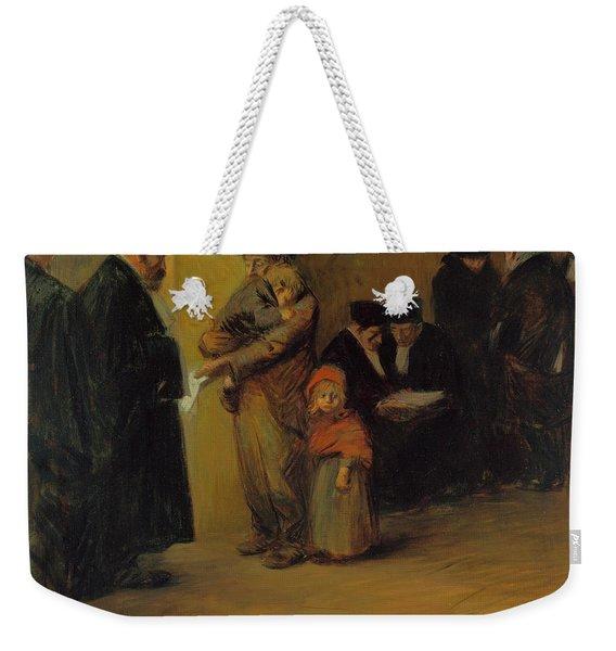 Legal Assistance Weekender Tote Bag